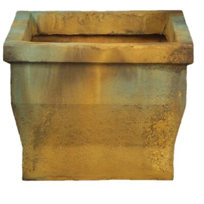 OrlandiStatuary Wide Urban Square Pot Planter #1