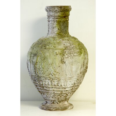 OrlandiStatuary Egyptian Round Vase Planter