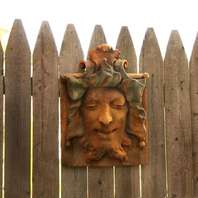 OrlandiStatuary Gargoyles Heckling Green Man Wall Decor