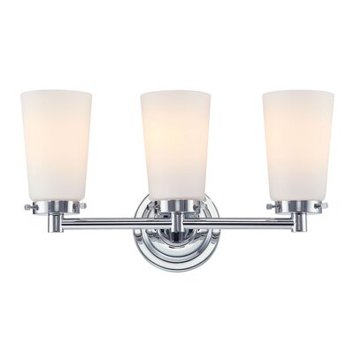 Alico Madison Three Light Bath Vanity in Chrome