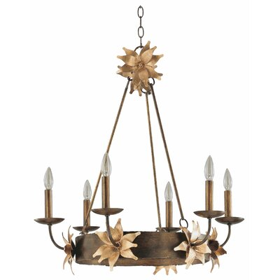 Simone 6 Light Chandelier