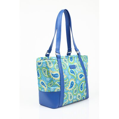 Sachi Insulated Fashion Paisley Lunch Tote