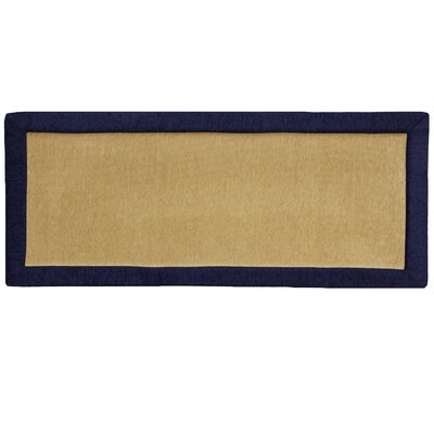 Imports Navy Blue Solid Rug
