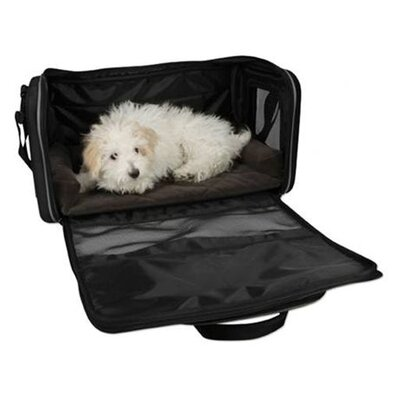 Hugglehounds Alpha Dog Carrier in Black