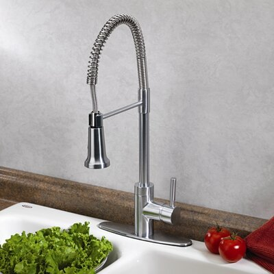 Forza One Handle Centerset Pull-Out Bar Faucet