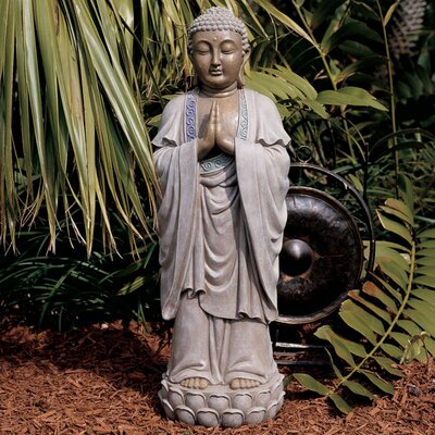 Design Toscano The Bodh Gaya Buddha Asian Statue