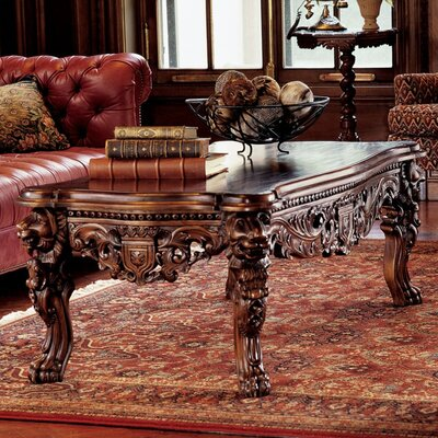 Design Toscano The Lord Raffles Coffee Table