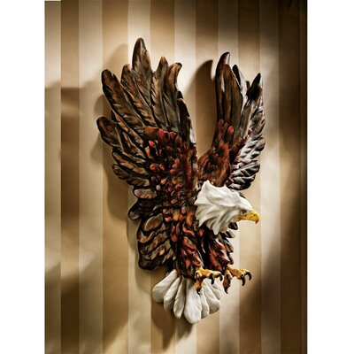 Liberty's Flight Eagle Wall Sculpture