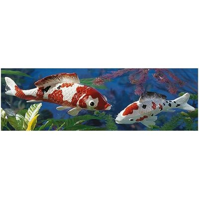 Design Toscano Japanese Floating Koi Sculpture Collection