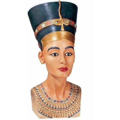 Design Toscano Queen Nefertiti Large Sculpture