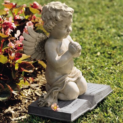 A Cherub's Prayer Statue