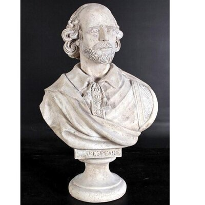 Design Toscano William Shakespeare Grand-Scale Sculptural Bust