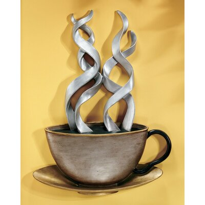 Design Toscano Cup of Joe Wall Sculpture