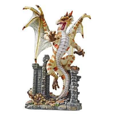 Deadly Venom Whiptail Dragon Statue