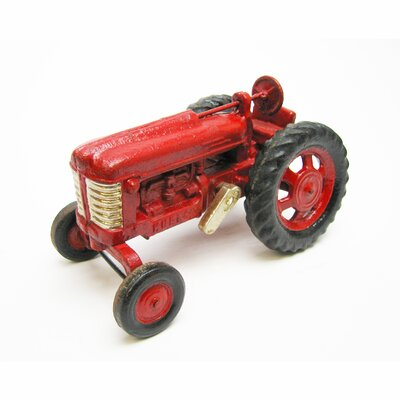 Big Red Replica Cast Iron Farm Toy Tractor