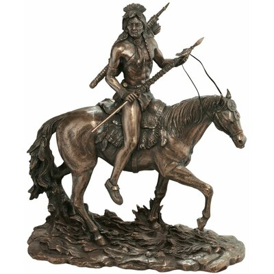 Design Toscano The Warrior's Lonely Path Sculpture
