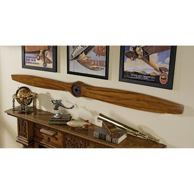 The Great War Biplane Propeller Wall Sculpture