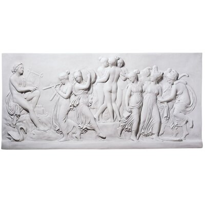 Design Toscano Apollo and Muses Wall Frieze