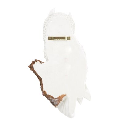 Design Toscano West Tower Owl Wall Sculpture