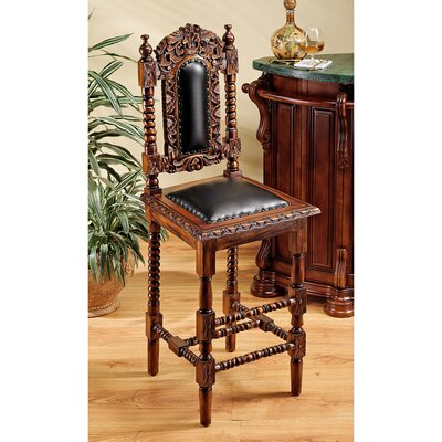 Charles II Gothic Bar Stool (Set of 2)