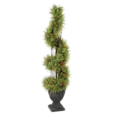 Spiral Topiary Small Tree Urn