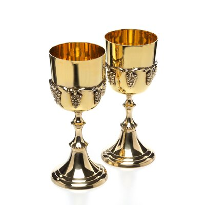 Design Toscano Grape Harvest Goblet (Set of 2)