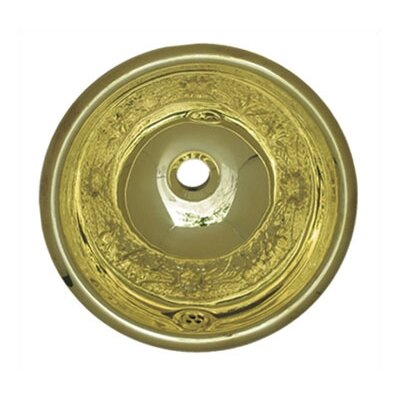 Decorative Round Bathroom Sink - WH602CF