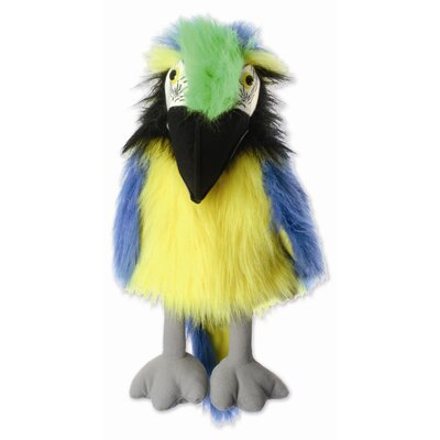 The Puppet Company Large Birds Macaw Puppet in Blue and Gold