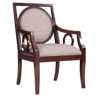 Madison Park Sienna Fabric Arm Chair