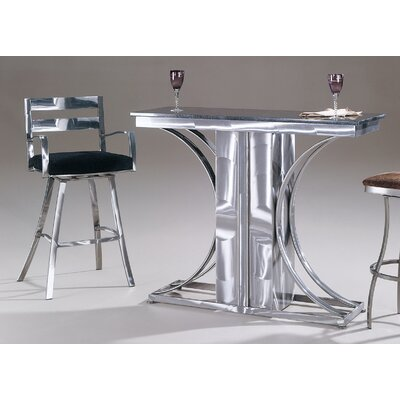 Johnston Casuals Crescents Granite Top Contemporary Bar Set