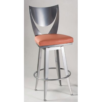 Bella Contemporary Swivel Barstool