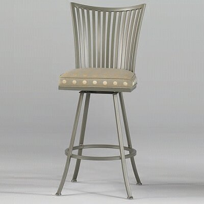 Paralline Contemporary Swivel Barstool
