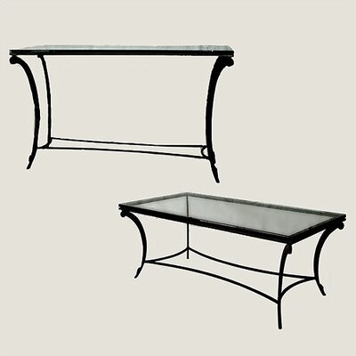 David Rectangular Coffee Table Set
