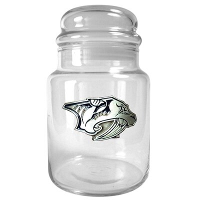 Great American Products NHL 31 oz. Glass Candy Jar