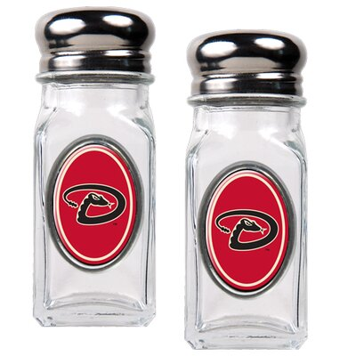 Great American Products MLB Salt & Pepper Shaker Set with Crystal Coat