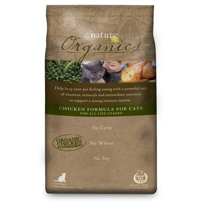Organic Chicken Formula Dry Cat Food (35-lb Bag)