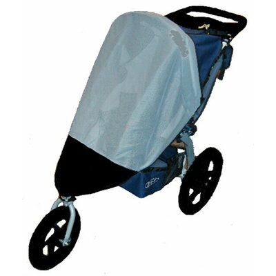 Sasha's Kiddie Products BOB Revolution / Stroller Strides Fitness Single Stroller Sun, Wind and Insect Cover