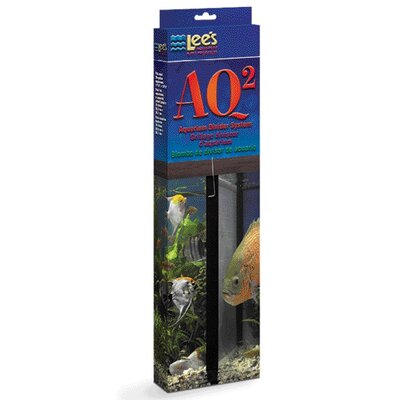 Lees Aquarium & Pet Aquarium Divider System in Black