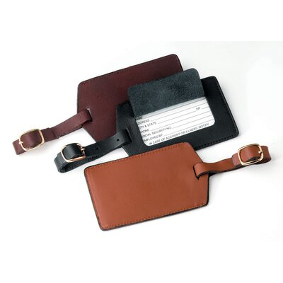 Royce Leather Leather Luggage Tag