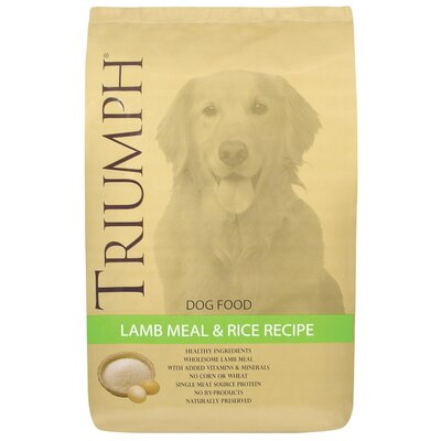 Triumph Lamb Meal and Rice Dry Dog Food