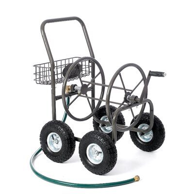 Liberty Garden Residential 4 Wheel Hose Reel Cart