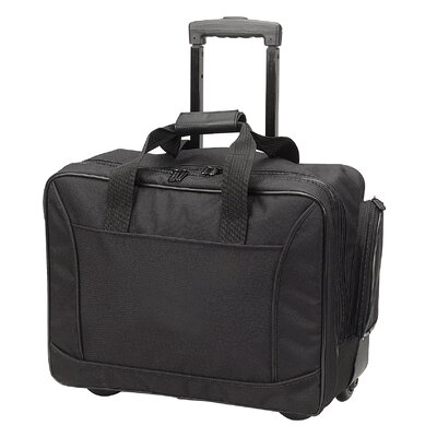 Goodhope Bags Travelwell Scan Express Wheeled Computer Briefcase in Black