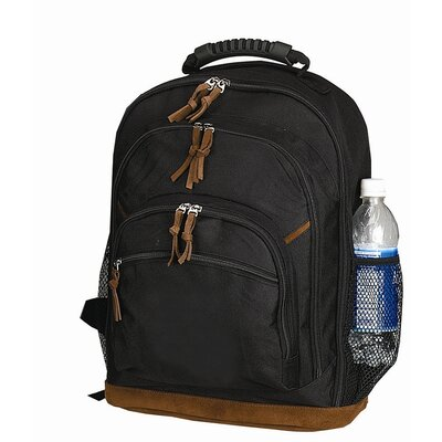 Goodhope Bags Leathered Bottom Backpack
