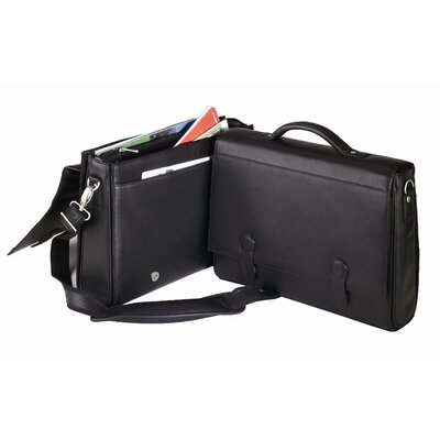 Bellino Flap-Over Briefcase