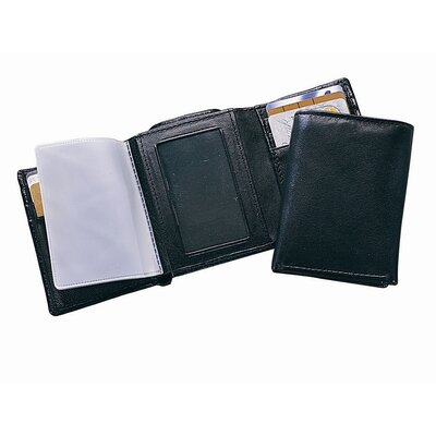 Leather Tr-Fold Wallet