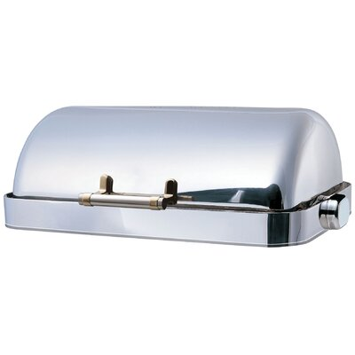 "SMART Buffet Ware ""Save on Additional Items""-Odin Oblong Roll Top Stainless Steel Drop-In Chafing Dish"