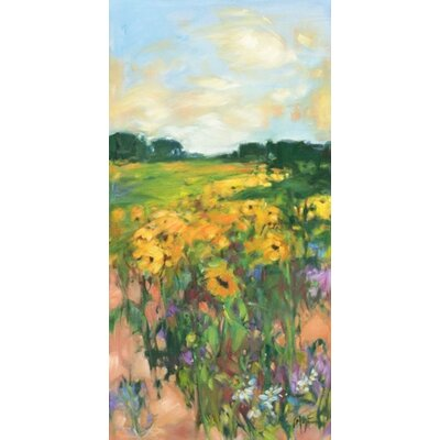 Phoenix Galleries Sunflowers Right on Canvas