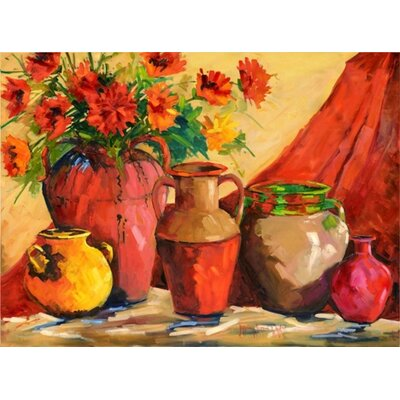 Tuscan Pots on Canvas