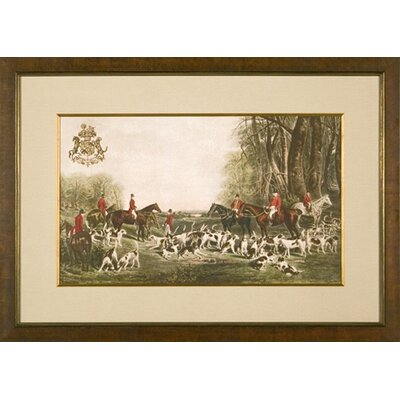 Phoenix Galleries The Quorn Hounds Framed Print