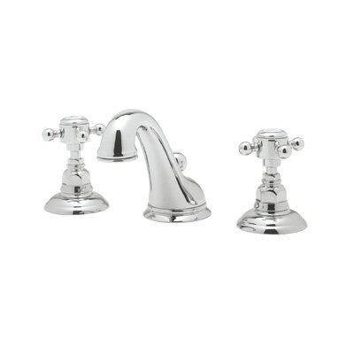 Rohl Country Bath Widespread Viaggio Faucet with Double Cross Handles